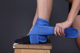 OmniPad™ application to the ankle